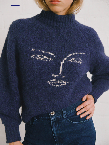 Piero Face Sweater