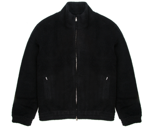 Black Teddy Miro Track Jacket
