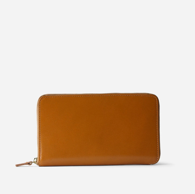 Tall Coupe Zipper Wallet
