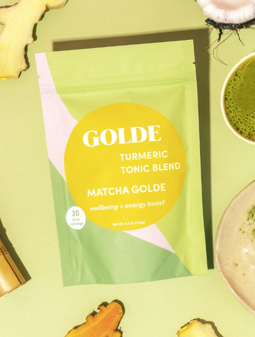 Matcha Golde Tonic