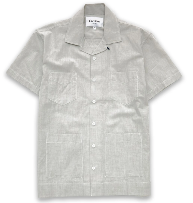 Summer Chambray Tea Shirt