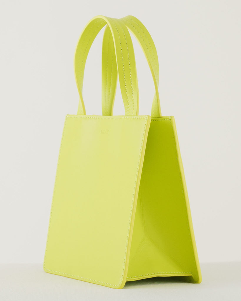 Small Leather Retail Tote
