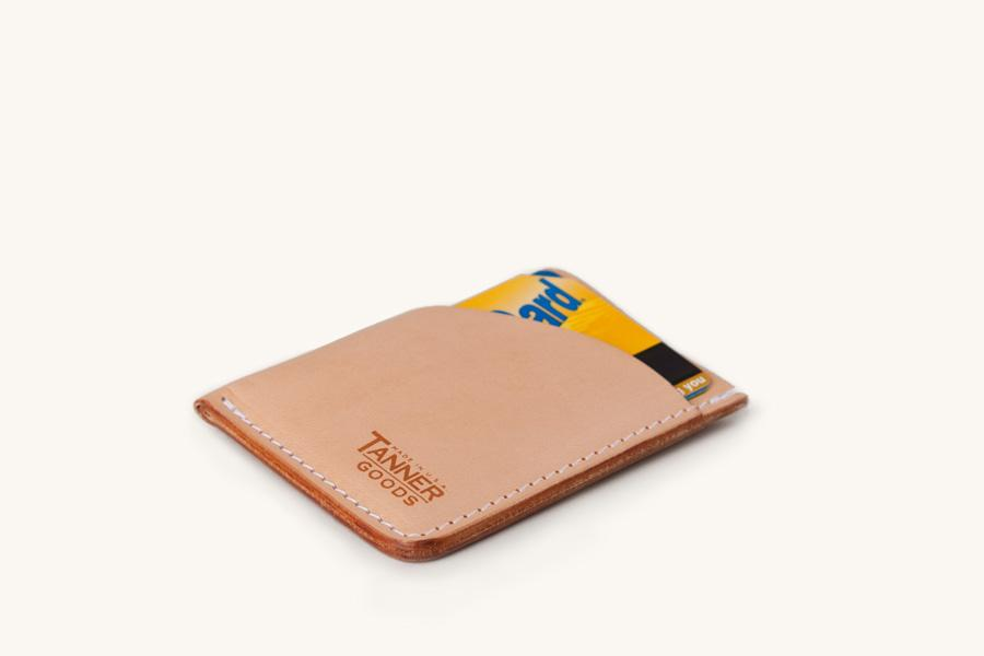 Natural Minimal Card Wallet