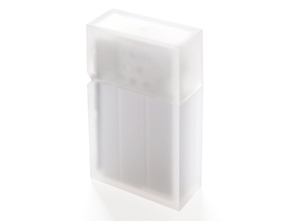 Hard-Edge Frosty White Lighter