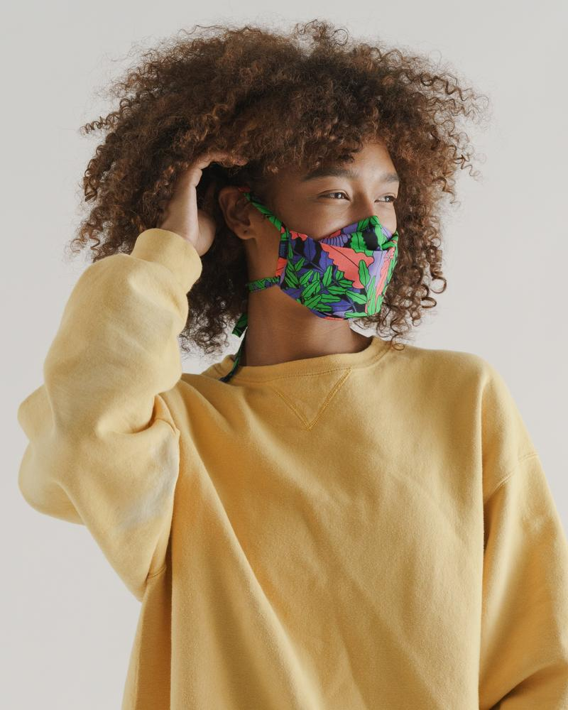 Baggu 3- Pack Fabric Mask in Forest Floor Print