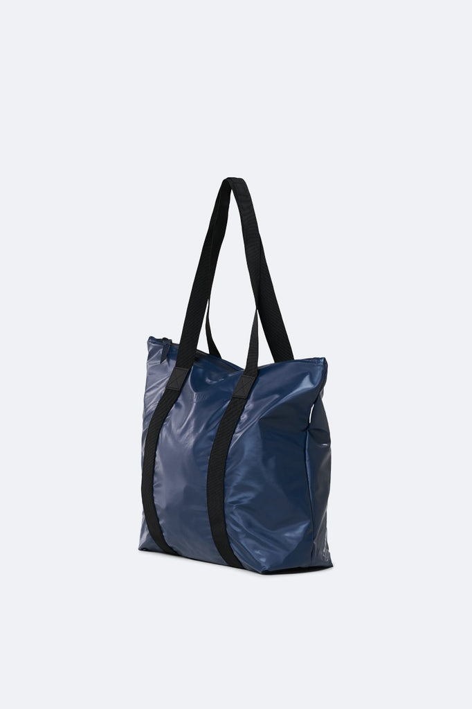 Shiny Blue Tote Bag Rush