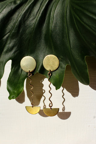 Wiggly World Earrings