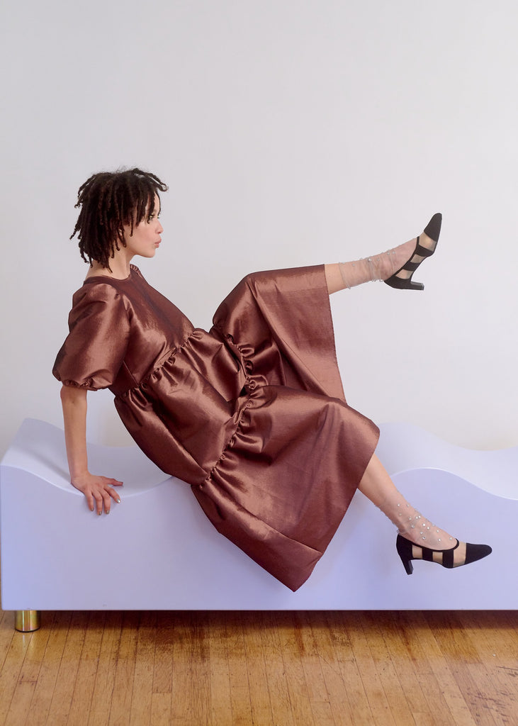 Copper Party Dress