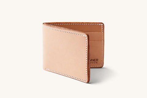 Natural Utility Bifold Wallet