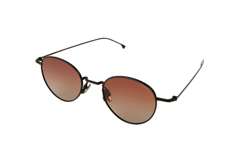 Black Gradient Brown Hailey Sunglasses