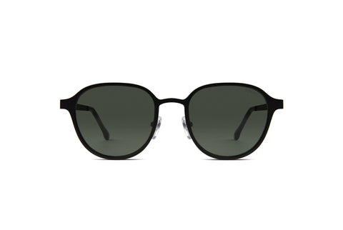 Black Matte Levi Sunglasses