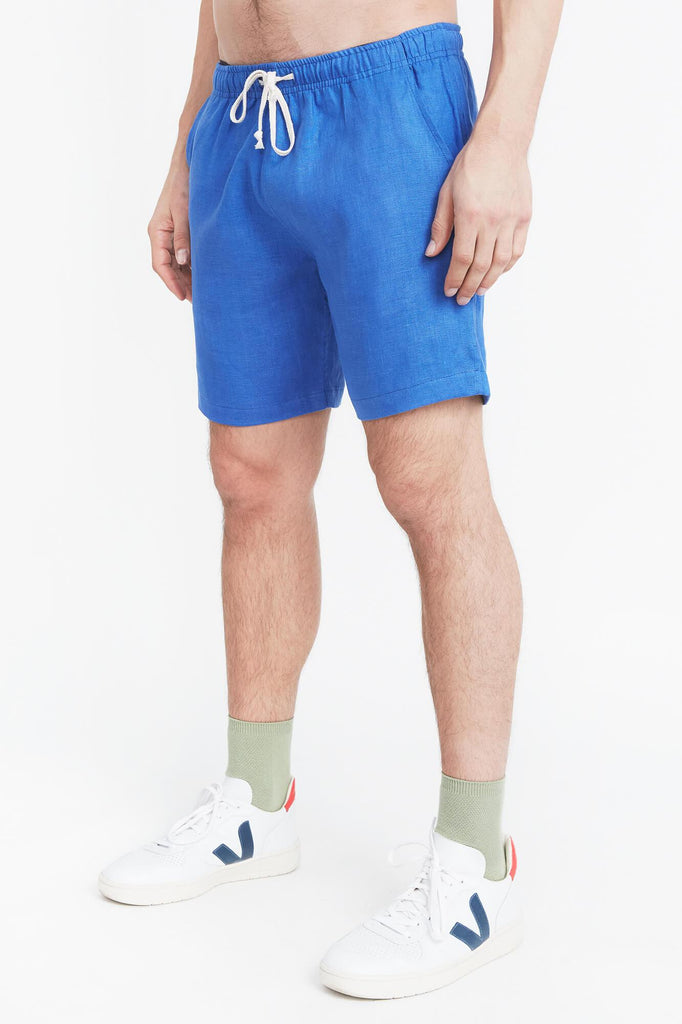 Royal Linen Bo Shorts