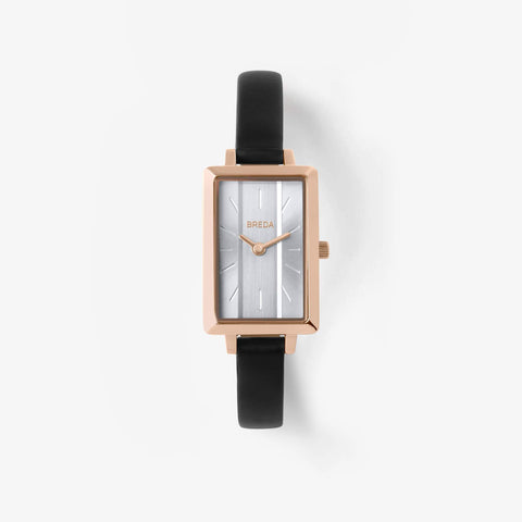 Eva Watch - Rose Gold/Black
