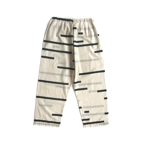 Broken Print Cotton Pants