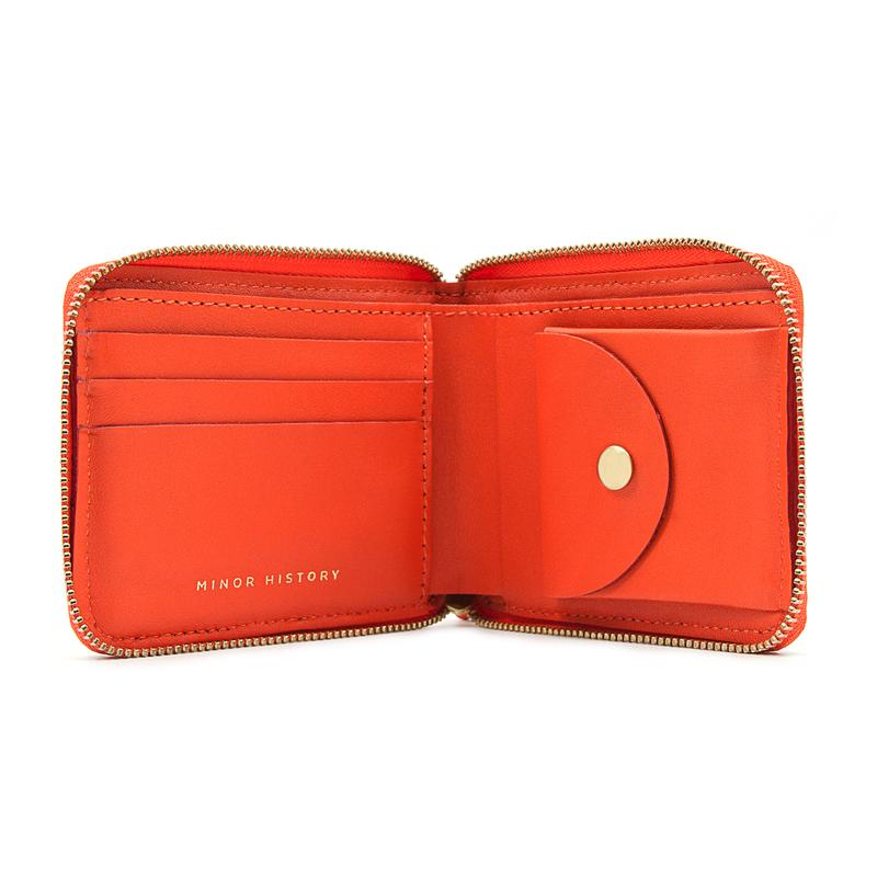 Small Coupe Zipper Wallet