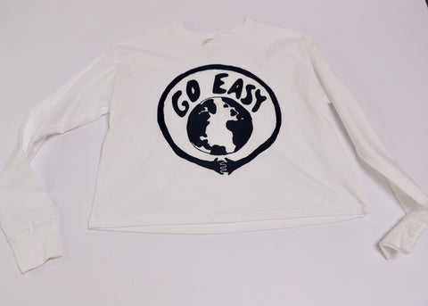 Go Easy Crop LS Tee