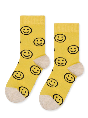 Mini Emoji Crew Sock