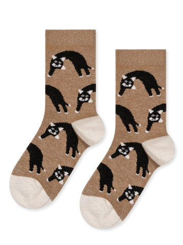Mini Pounce Crew Sock