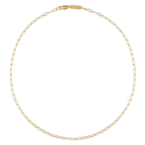 Petite Oval Link Necklace