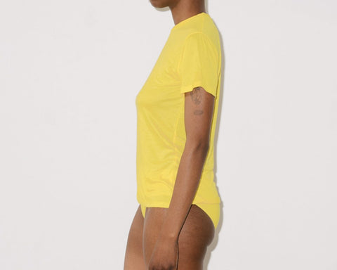 Braid Yellow Bamboo Jersey Tee