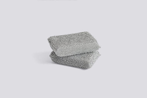 Lurex Silver Sponge - Set of 2