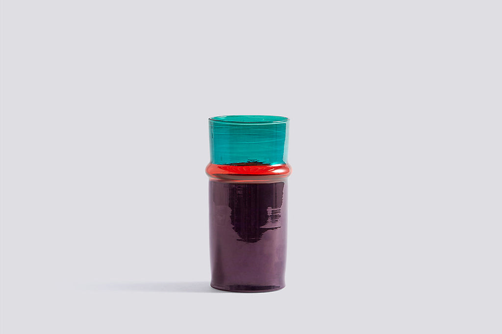 Purple Moroccan Vase