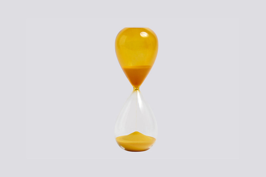 Large Yellow Hourglass