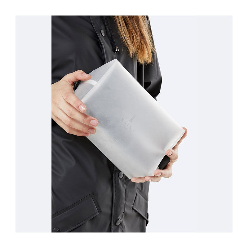 Foggy White Wash Bag Small