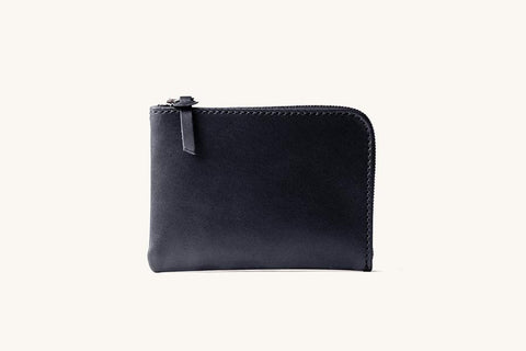 Black Universal Zip Wallet