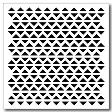 Geometric Triangles Stencil