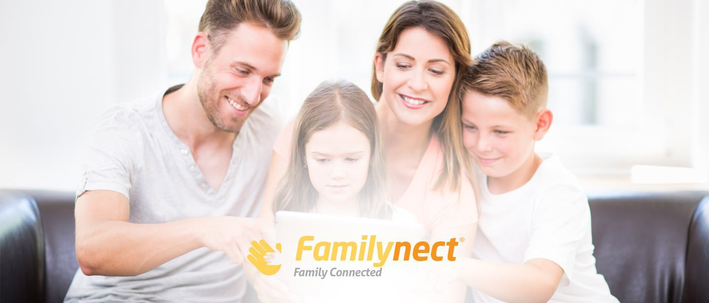 Familynect tech gear to keep you and your family safely connected at home car or traveling.
