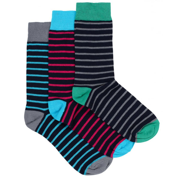 Striped Socks 3 Pack