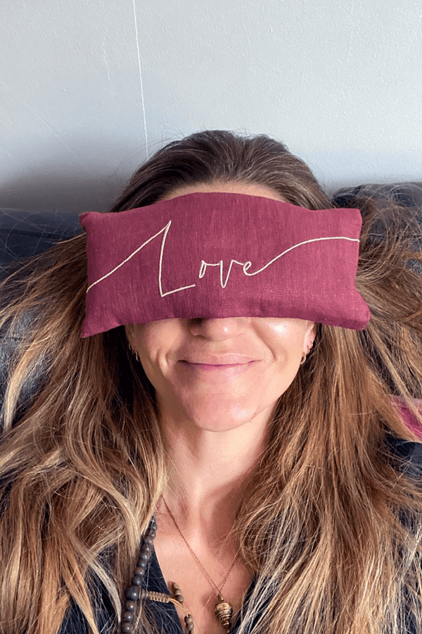 The Gift of Rest - Eye Pillow Benefits for Stress and Sleep