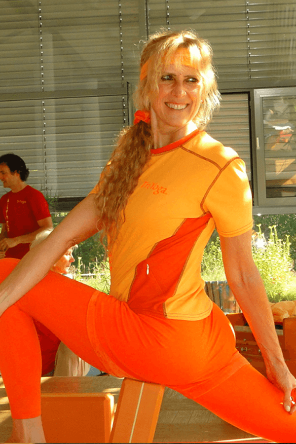 Kali Ray, the founder of Kali Ray Yoga
