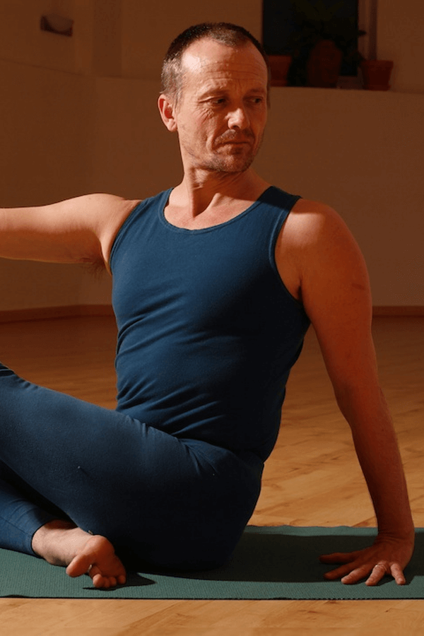 Godfrey Devereux - founder of windfire yoga