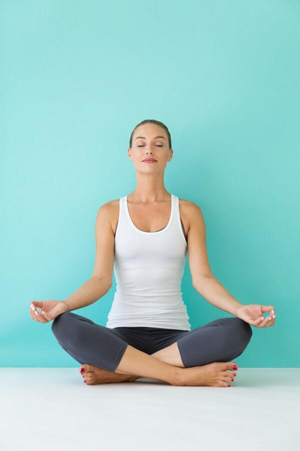 Easy guide to Easy Pose, or Sukhasana