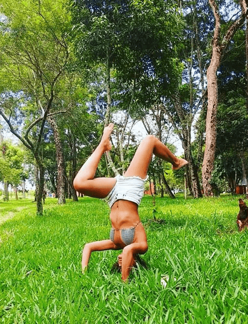 Jéssica Oliveira's personal yoga journey
