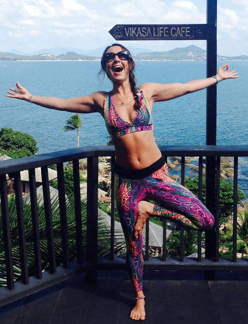 Tara Fletcher's Personal Yoga Journey