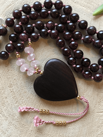Clarity Mala Necklace - Malatopia - £131.53