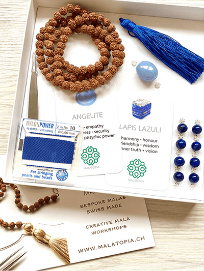 Vishuddha Throat Chakra Mala Kit