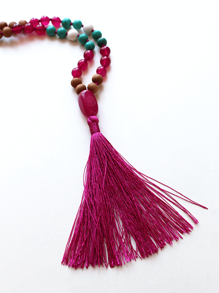 Women's Charity Mala Necklace - YogaClicks - £55.00