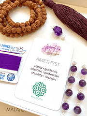 Ajna Third Eye Chakra Mala Kit