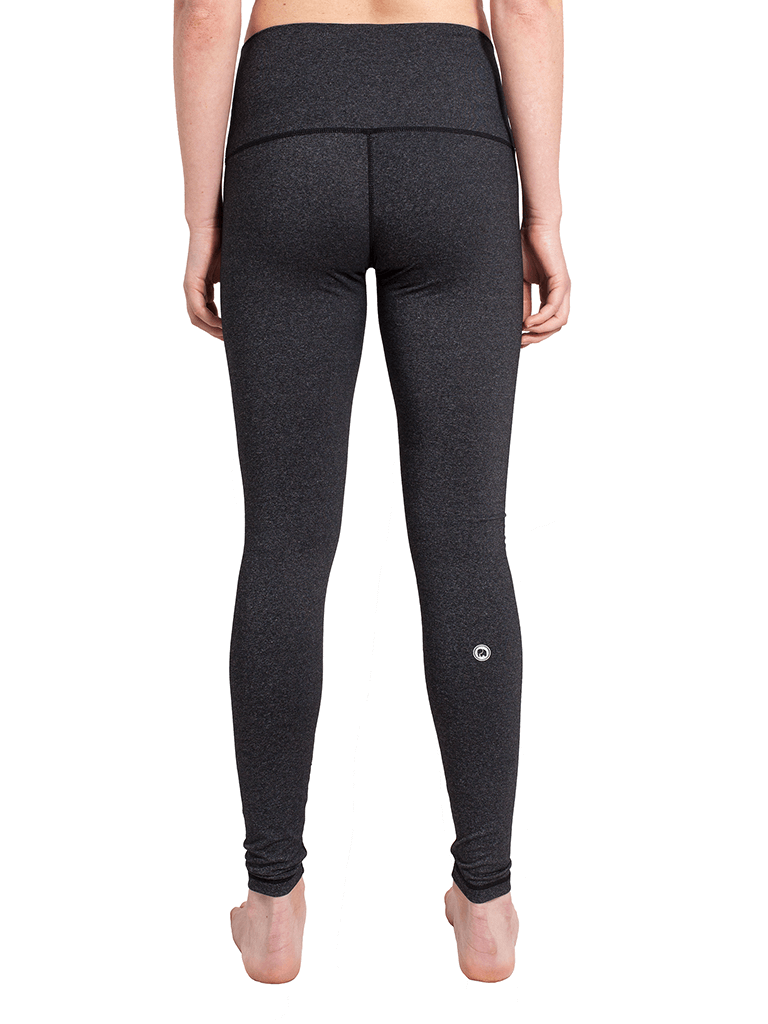 High Waisted Classic Yoga Leggings - Grey