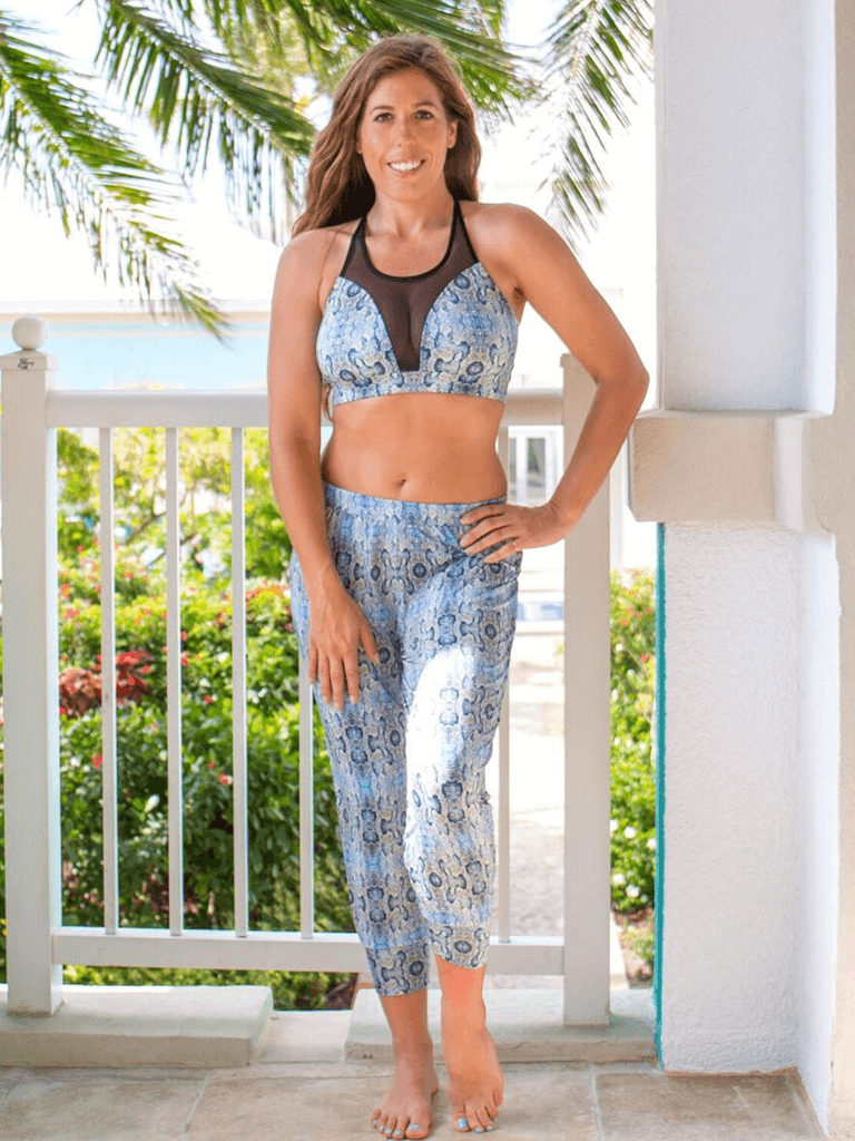 Gypsea Capri Yoga Leggings - Mamba Print - SoloSol Movement - £82.16