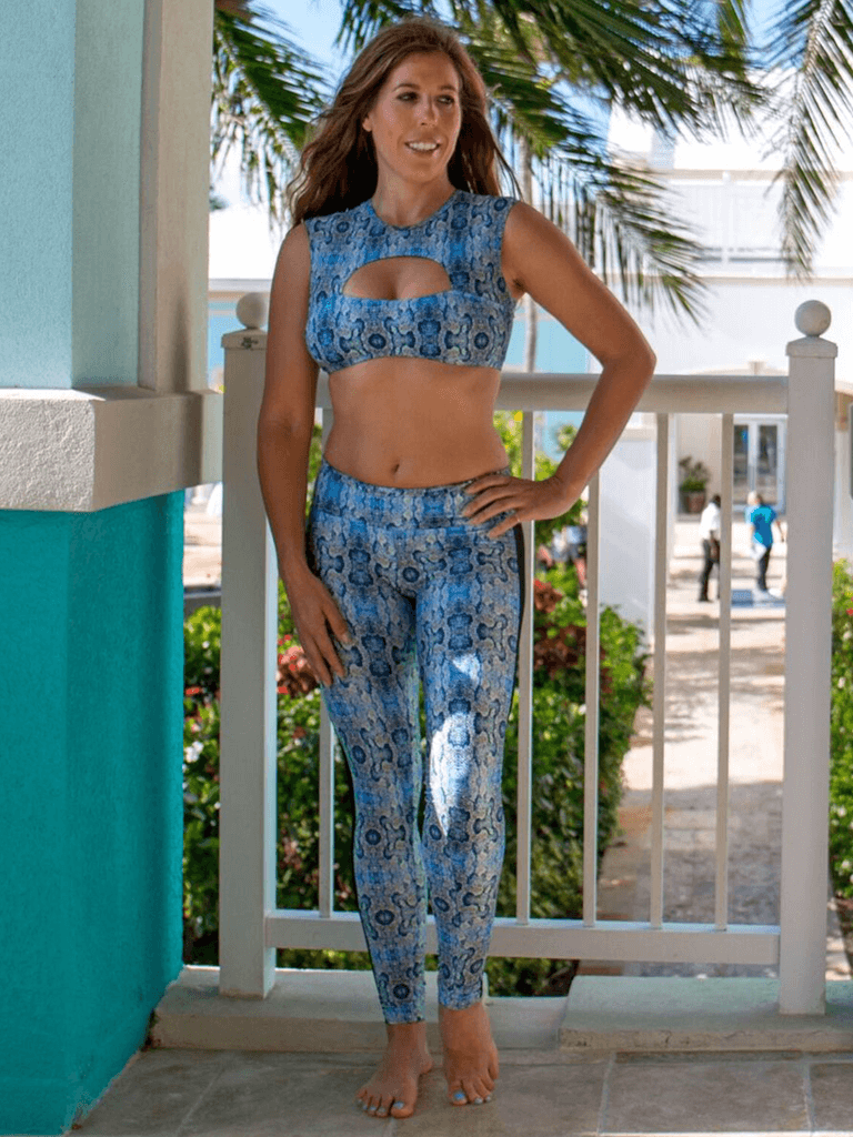 Balance Yoga Leggings - Mamba Print