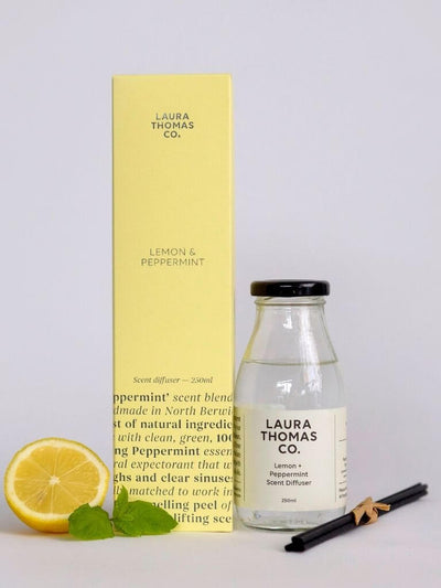 Lemon and Peppermint Scent Diffuser