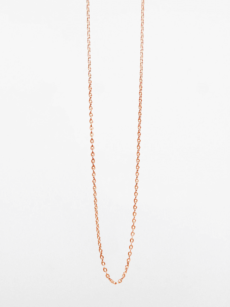 Glossy Anchor Chain - Rose Gold