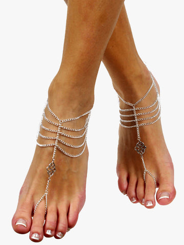 Iona Barefoot Sandals Foot Jewellery