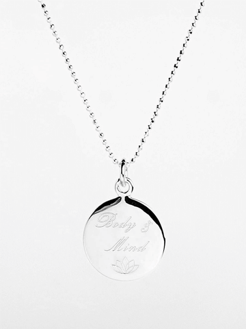 Body & Mind Pendant - Silver