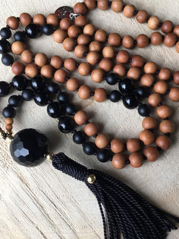 Sun Child Mala Necklace - AnnakaTaika - £131.53
